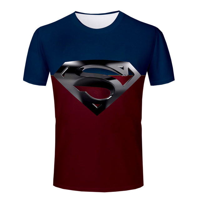 Fantastic New Arrival Stylish New t shirt Fashion Superman T Shirts Summer  DE46