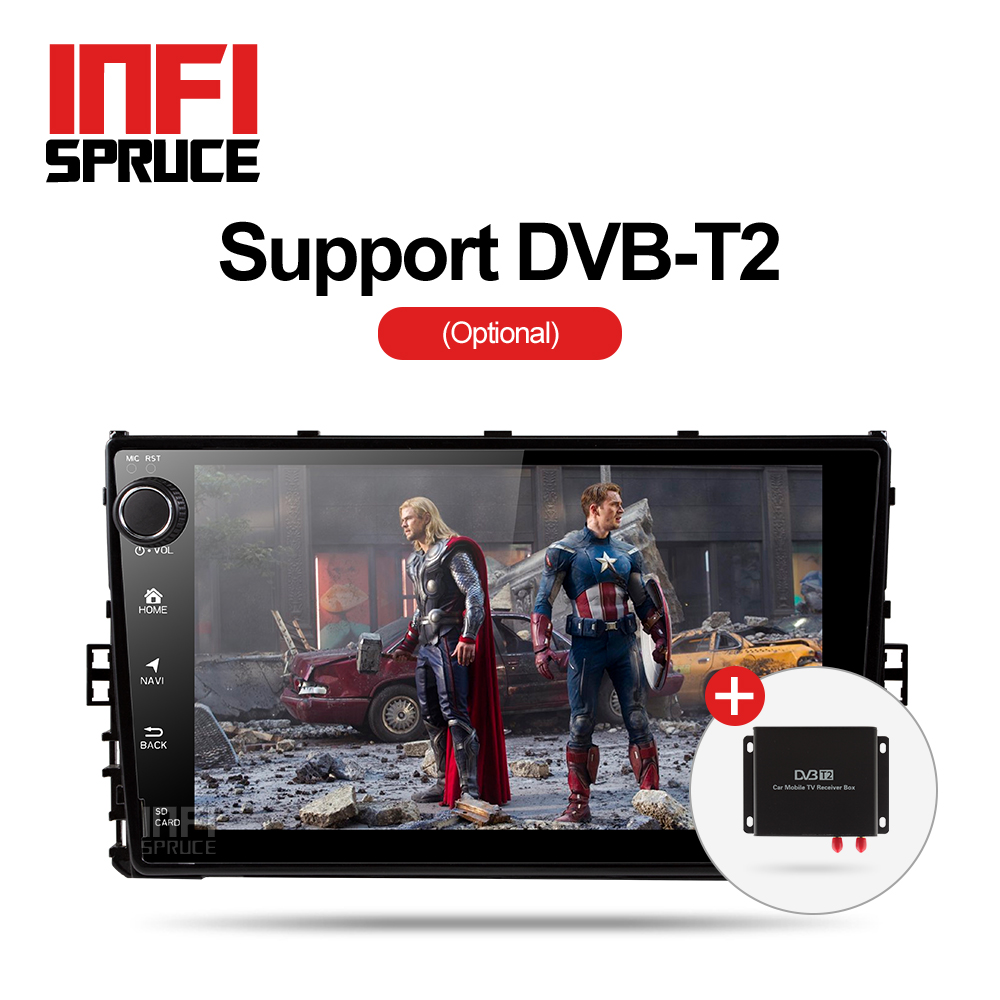 US $297 95 41% OFF|Infispruce 2G+32G android 8 1 car gps player for  VW/Skoda car radio video player gps navigation car stereo player car dvd-in  Car
