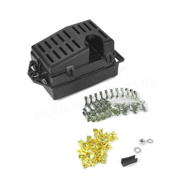 universal 21 way car fuse box holder black auto fuse relay 80 Amp Fuse  Automotive Switch Panels 60A Fuse Automotive Indicator Lights