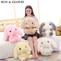 SUN CLOUD 1 Pcs Cute Plush Rabbit Backpack Kawaii Bunny Backpack Stuffed Rabbit Toy Children School