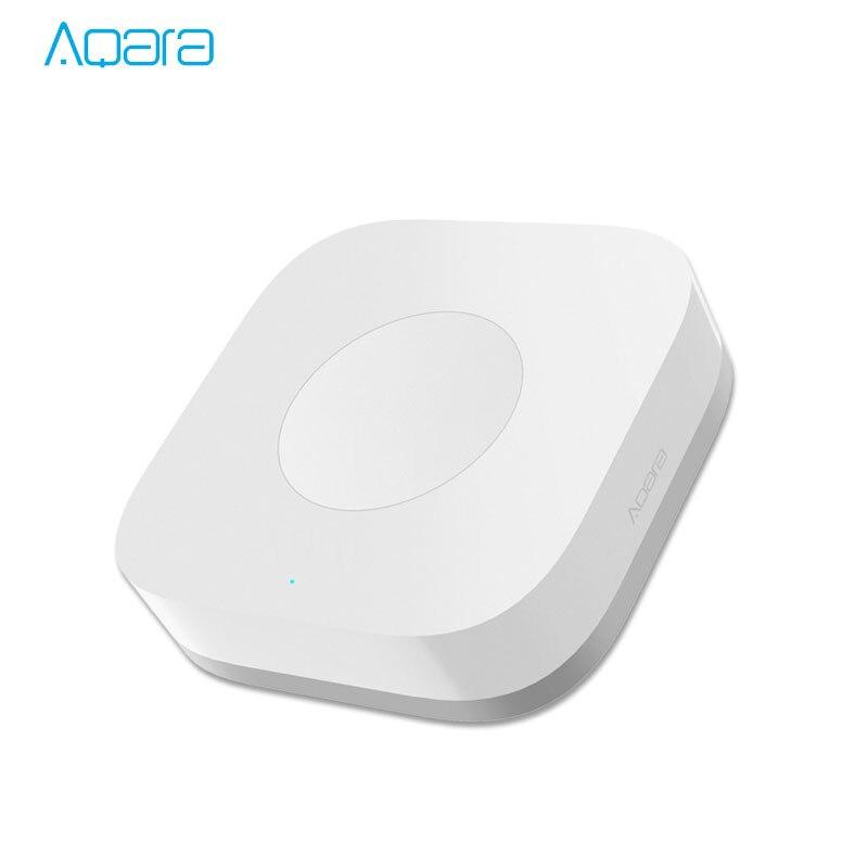 Xiaomi Mijia Aqara inteligente interruptor inalámbrico remoto inteligente un Control clave Aqara aplicación inteligente de seguridad de la aplicación de Control