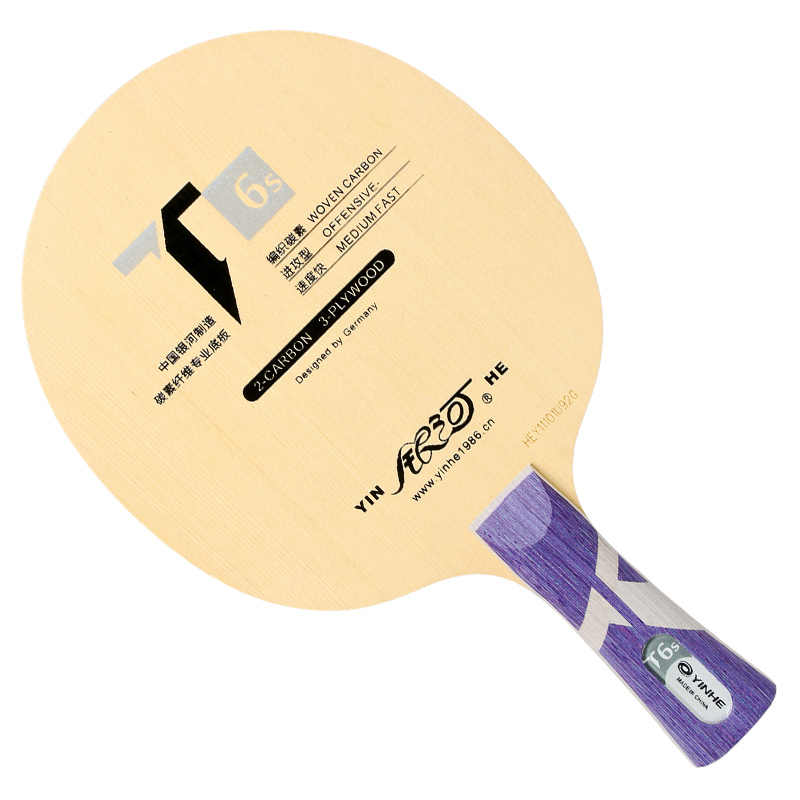 Orignal Yinhe T 3S 5S 6S Pro Hinoki+ CARBON Table Tenis Blade/ Ping Pong Blade