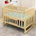 Madeira maciça Cama Multifuncional Berço Do Bebê Recém-nascido Crianças Berço Cercadinho De Madeira Do Bebê Cama Mosquito Net