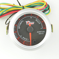 New 2 inch Stepper motor 7 Color Backlight car Air-fuel ratio Gauge Car modification Gauge Free shipping