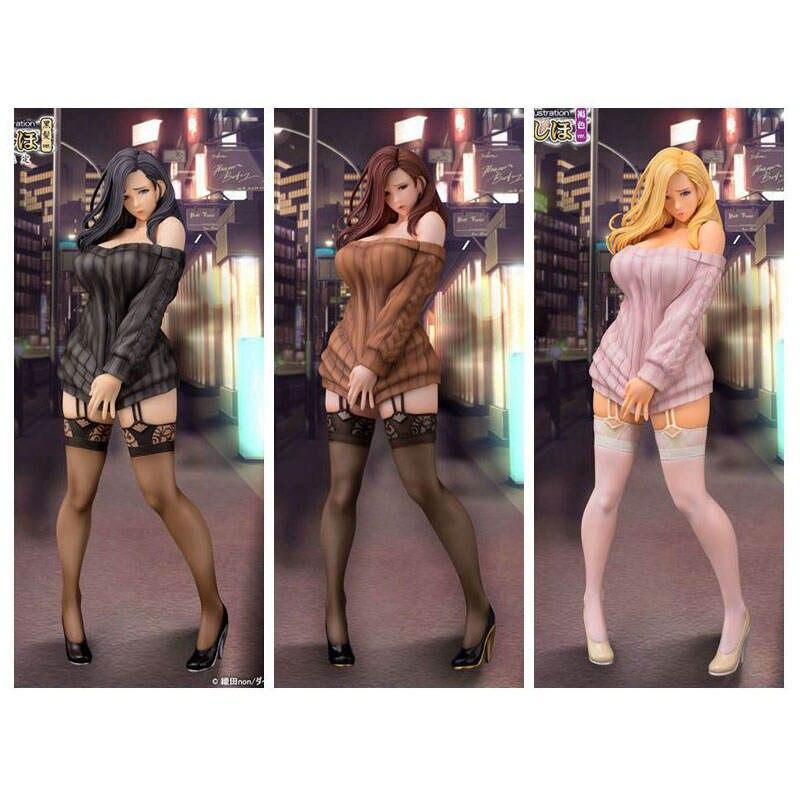 Anime Daiki Kougyou Oda Non Illustration Shiho Kujo Sexy Girl Toys Figures 1/6 Scale PVC Action Figures Collectible Model Toys