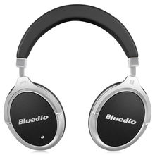 Bluedio F2 Bluetooth Earphone Active Noise Cancelling Wireless Headphones with Microphone bluedio f2 black