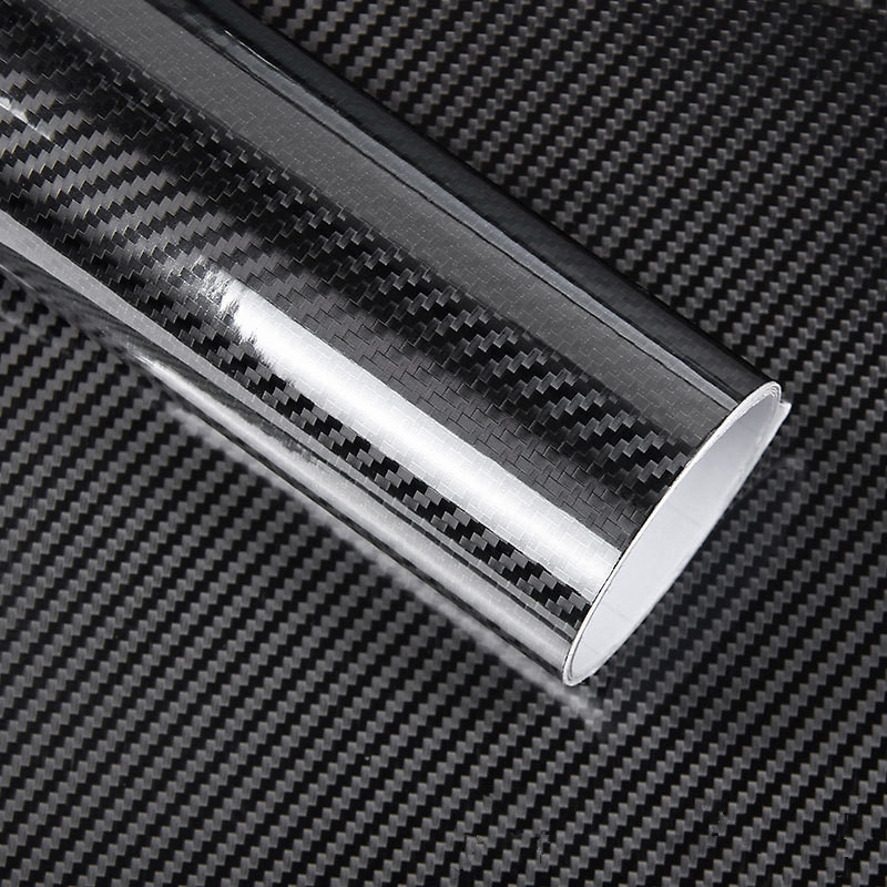 50*200cm Black 5D Carbon Fiber Vinyl Film Car Wrap Film Carbon Fiber Car Sticker Auto Exterior Film Accessories car styling montford carbon fiber exterior rear