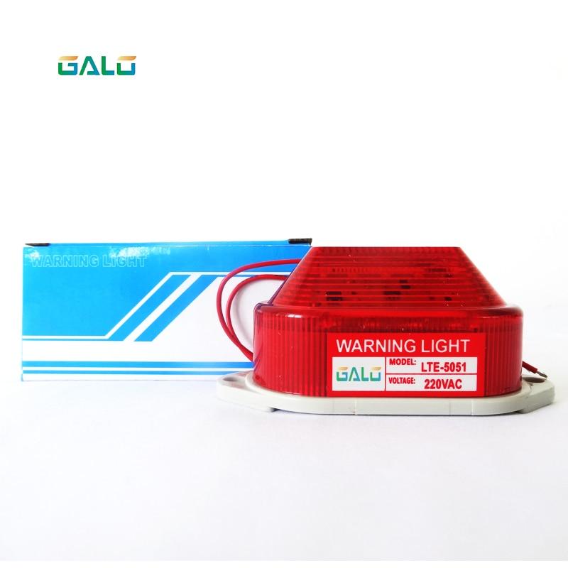 Indicator Light Strobe Signal Warning Light Lamp Small Flashing Light Security Alarm 12V 24V 220V LED Wall Roadside Available