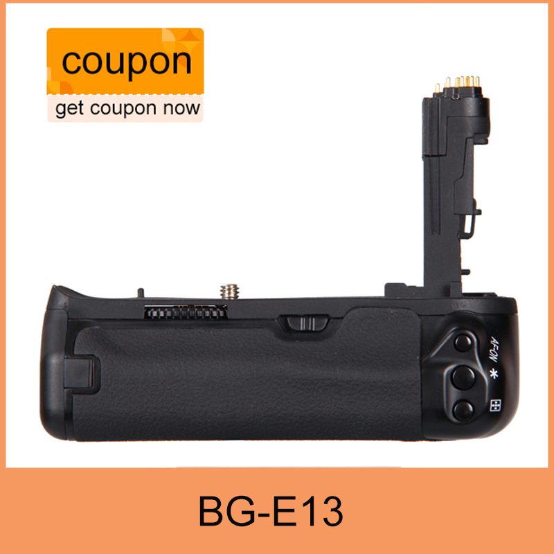 Free Shipping BG-E13 Battery Grip for Canon BG E13 EOS 6D DSLR Camera as LP-E6
