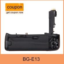 จัดส่งฟรีBG-E13 Gripแบตเตอรี่สำหรับCanon BG E13 EOS 6Dกล้องDSLRเป็นLP-E6
