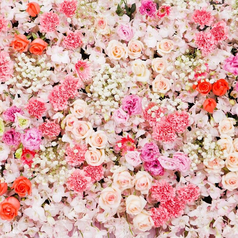 Huayi art tissu floral fleurs lit de photographie photographie toile de fond papier xt-5500