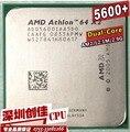 Original AMD CPU Athlon 64 X2 5600+ 2.9GHz AM2 940pin Dual-Core Processor desktop cpu scattered piece 6000 5400 5200 5000