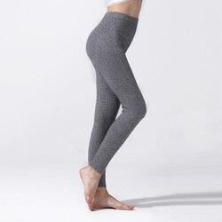 Женские зимние вязаные леггинсы, 100% кашемировые вязаные штаны, высококачественные вязаные брюки из Пашмина