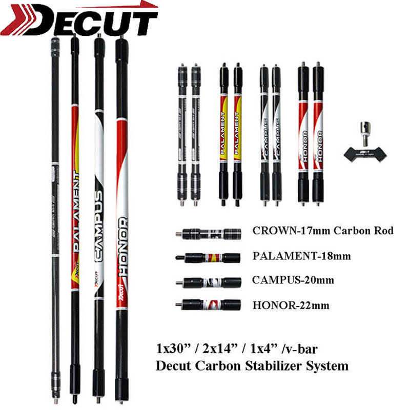 1Set 30/10/4 Archery Carbon Stabilizer System Bow Balance Bar Rod Set Original Damping Hunting Shooting Auxiliary Accessories1Set 30/10/4 Archery Carbon Stabilizer System Bow Balance Bar Rod Set Original Damping Hunting Shooting Auxiliary Accessories
