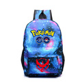 Pocket Monsters Pokemon Glow Bags Luminous Printing Backpack  Teenage Girls Vintage Laptop Backpacks Female School bag X377