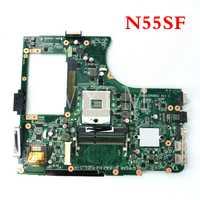 N55SF motherboard PGA989 HM65 REV2.0 Für ASUS N55S N55SF N55SL Laptop mainboard Getestet Arbeits Freies Verschiffen 90R-N5FMB14000