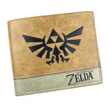 purse wallet of jump comic jojo Hellsing Sword Art Online Loose leaf Purse high quality Naruto pu man portfel