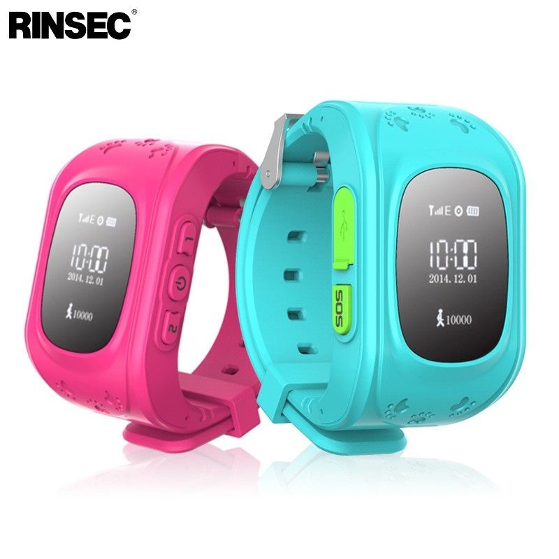 Rinsec Anti Lost Q50 Child Smart Watch GPS Tracker SOS Monitoring Positioning Phone Kids Watch Compatible