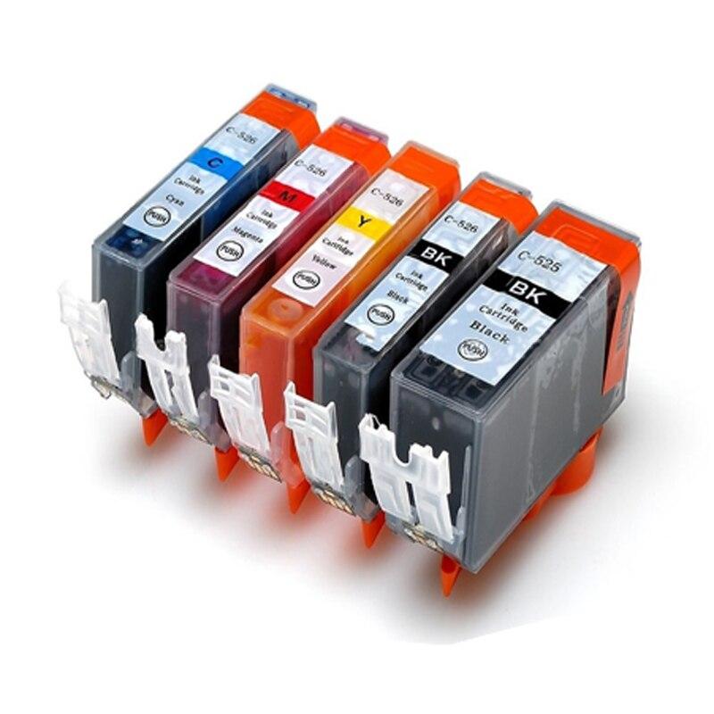 Für canon pgi 525 cli 526 tintenpatrone für canon PIXMA iP4850 iP4950...