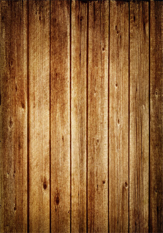 10x10FT Photography Studio Backdrop Solid Timber Buff Wooden Planks Wall Floor Custom Background