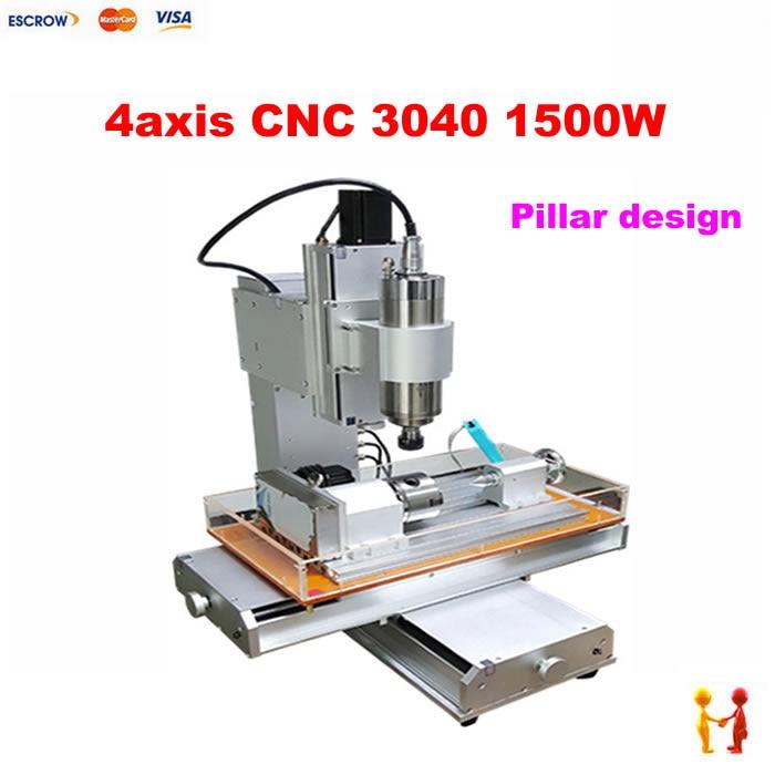 2017 Newest Pillar type cnc router LY cnc milling Machine with sink mini cnc router 3040 3axis mini cnc router ly cnc3020z vfd1 5kw engraving machine with sink cnc cutting machine