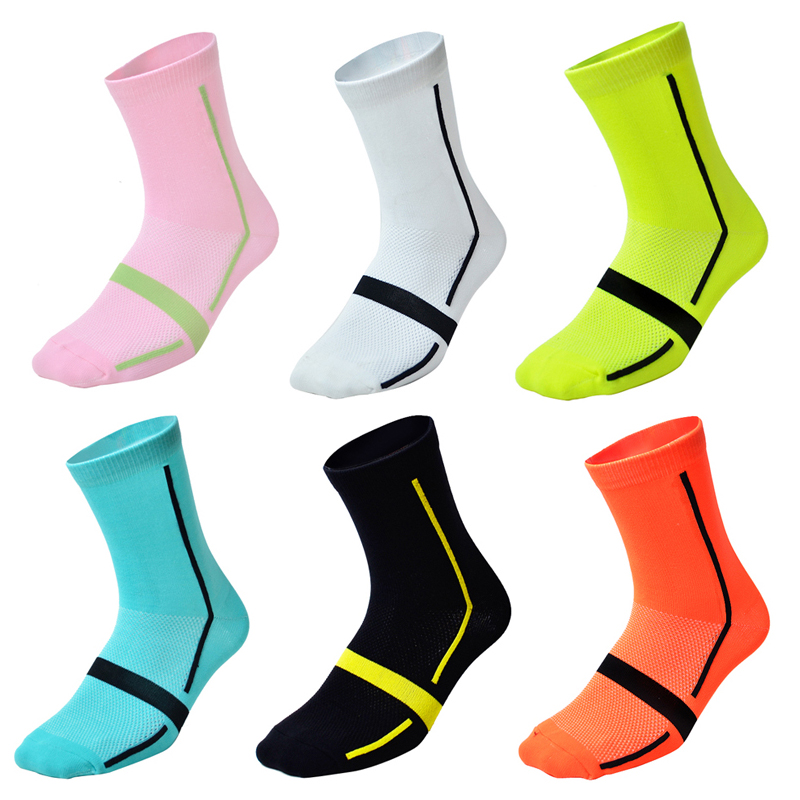Tutomptu 1 Pairs Nylon Professional Cycling Socks Bicycles Ss