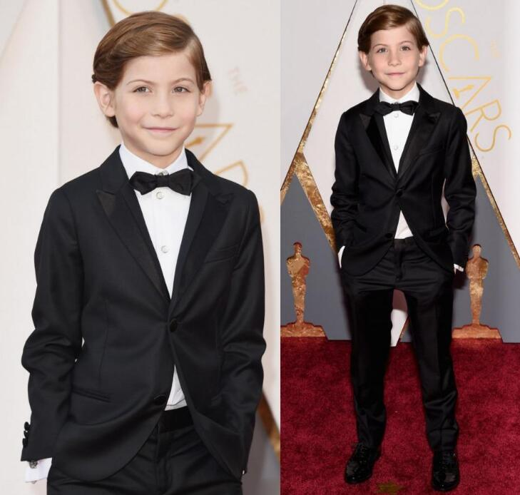 2016 Oscar Jacob Tremblay Children Occassion Wear Page Boy Tuxedo For Boys Toddler Formal Suits  Boys wedding outfit2016 Oscar Jacob Tremblay Children Occassion Wear Page Boy Tuxedo For Boys Toddler Formal Suits  Boys wedding outfit