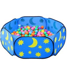 Play Tent Toys Foldable Children Kid Ocean Ball Game Pool Indoor Outdoor Play House Ball Pool For Boys Girls Children Kids Gifts(China)