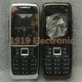 Новый Полный Полный Мобильный Телефон Крышка Корпуса Чехол + Английский или Русский Клавиатура Для Nokia E51 + Инструменты + Отслеживая