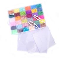 36 Color 5mm Hama Beads Perler Beads Box Set EVA Fuse Beads For Children DIY Educational