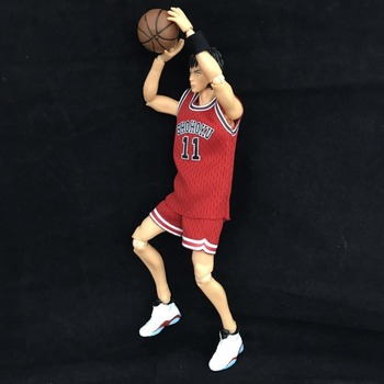 NEW 17cm SLAM DUNK Rukawa Kaede Hanamichi Sakuragi Action figure toys doll with box