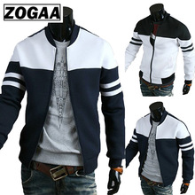 ZOGAA Brand New Mens Jackets and Coats Slim Fit Casual Jacket for Men Outwear Spring Autumn Coat Male Clothinng 2018