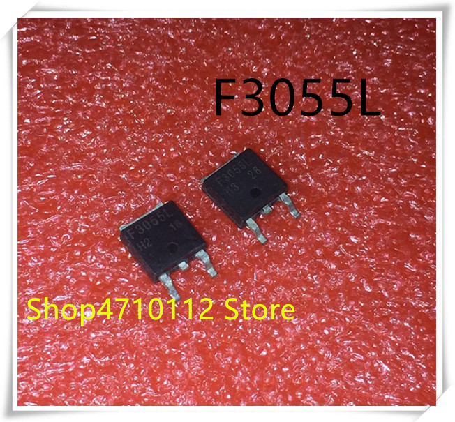 NEW 10PCS/LOT RFD3055L RFD3055LE RFD3055 F3055L FD3055L TO-252 IC