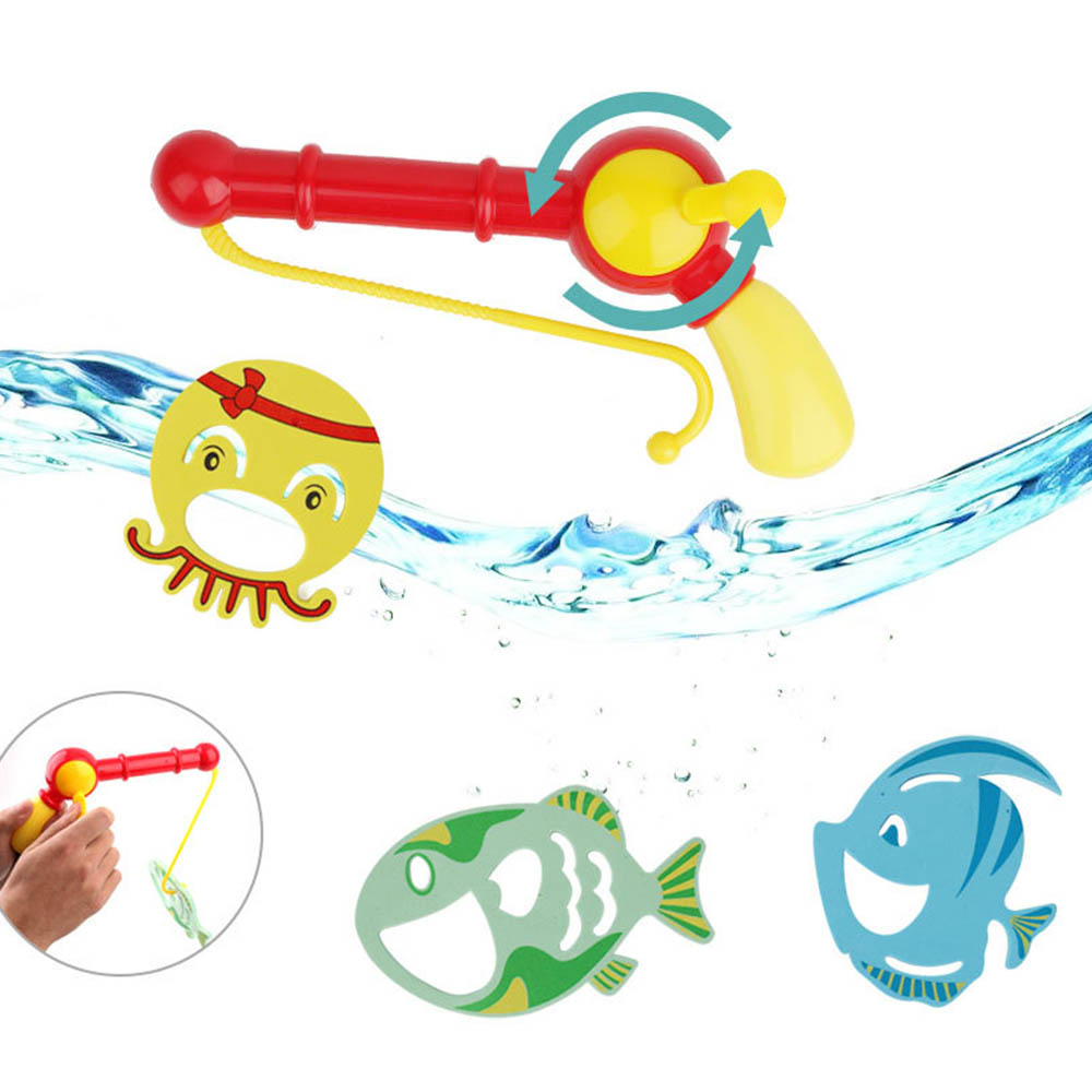 Outdoor Fun & Sports Fishing Toys Amicable Fishing Toy Set Suit Magnetic Play Water Baby Toys Fish Square Hot Gift For Kids Magnetic Fishing Parent Children Boy Girl