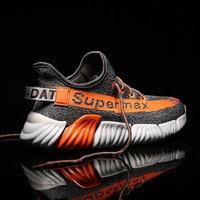 MWY Air Mesh Breathable Man Shoes Platform Shoes Comfortable Soft Sneakers Men Chaussures Plateforme Men's Vulcanize Shoes