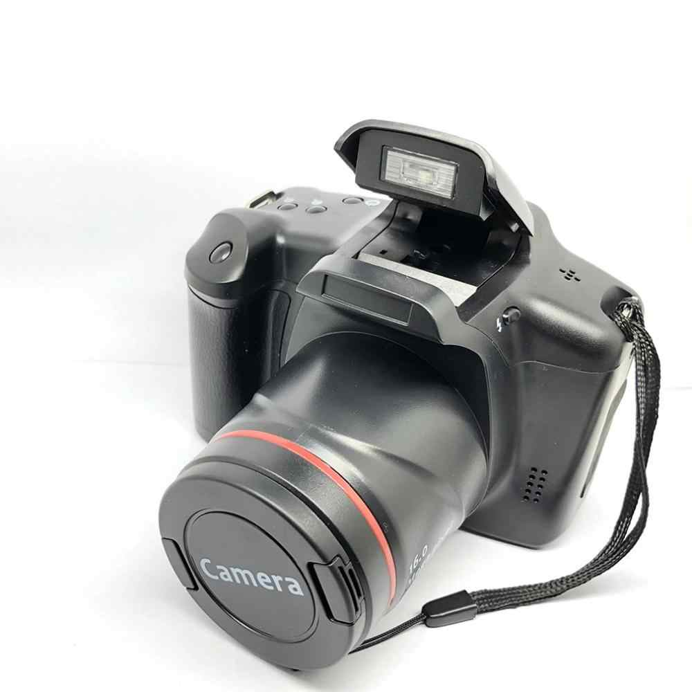 XJ05 Kamera Digital SLR 4X Zoom Digital 2.8 Inci Layar 3mp CMOS Max 12MP Resolusi HD 720P TV Out mendukung PC Video