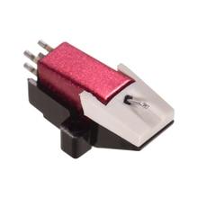 Универсальный проигрыватель пластинок картридж с коническим стилусом 1/2 дюйма крепление для LP120-USB/LP240-USB/LP1240-USB