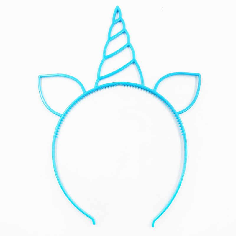 6pcs Unicorn Party Decoration Unicorn Headband Birthday Party Decorations Kids Baby Shower Kids Favors Festive Party Supplies