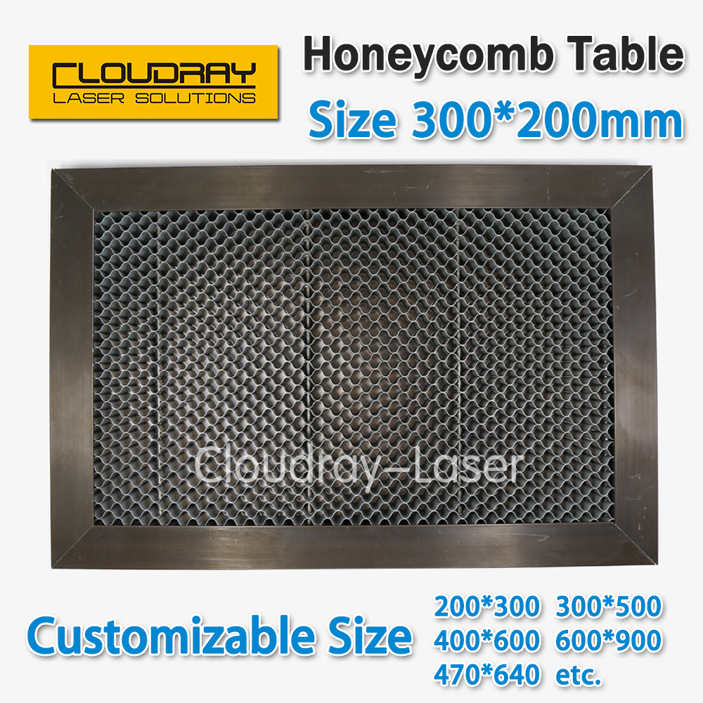 Honeycomb Working Table 300*200 mm Customizable Size Board Platform Laser Parts  for CO2 Laser Engraver Cutting Machine измерительный прибор laser target 150 200 300 300 300