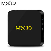 TV Box MX10 Smart Android 9.0 TV Box RK3328 4K box Android HDR10 USB3.0 DLNA Miracast WiFi LAN HD Media Player TV Box(China)