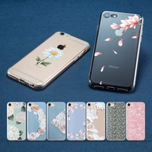 Coque Flower texture for iPhone XS MAX case Funda 7 Cases XR Case 8 Plus 5 5S SE X Shell