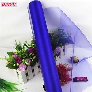 Image 5 - Rouleau de Tulle Organza cristal pour robe Tutu, bobine de 72CM * 10M, pour fête mariage ou anniversaire, 8zSH015