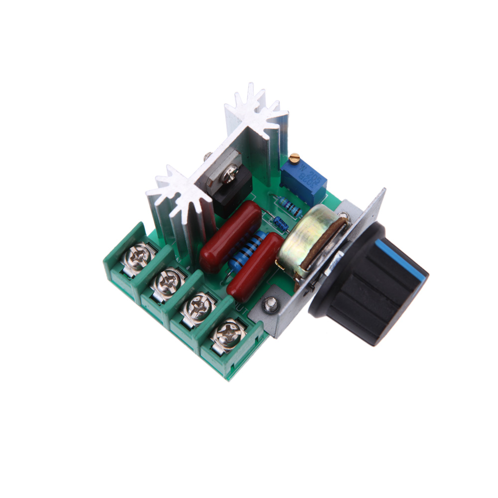 Ac 50 220v 25a 2000w Motor Controller Scr High Power Electronic Simple Speed Control Two Different Voltages Electronics Voltage Regulator Module In From Home Improvement On