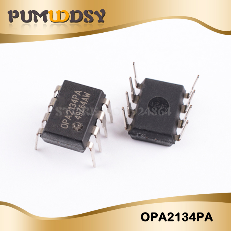 5pcs OPA2134PA <font><b>OPA2134</b></font> IC OPAMP AUDIO STER AB DIP8 IC image