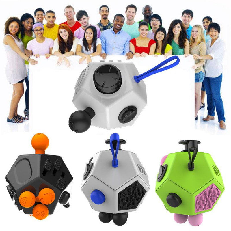 High Quality Fidget Cube 2 Toys for Girl Boys Christmas Gift The First Batch of The Sale Best Christmas Gift Anti Stress Cube