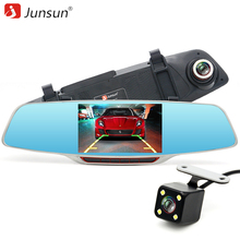 Junsun h320 автомобиля камера dvr зеркало регистратор 5 «IPS с ADAS LDWS Full HD 1080 P Даш Cam DVR Запись Видео Ночного Видения