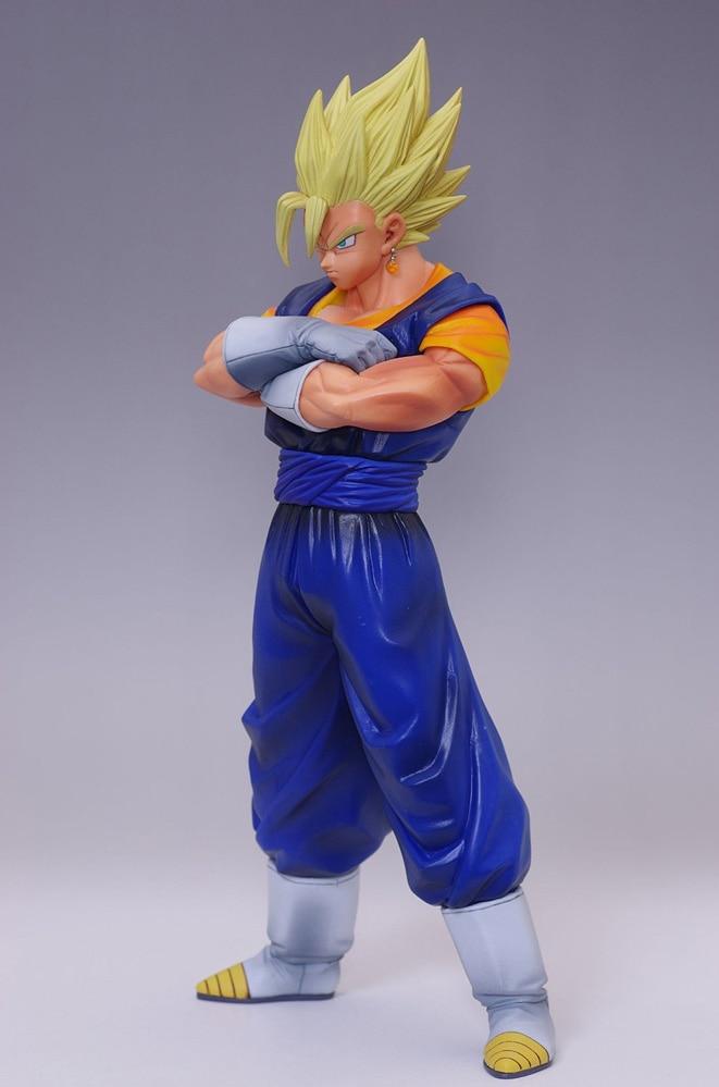 Hot Banpresto Dragon Ball Kai Master Stars Piece Goku Vegeta Unisci The Vegetto Super Siayan 28cm Action Figure