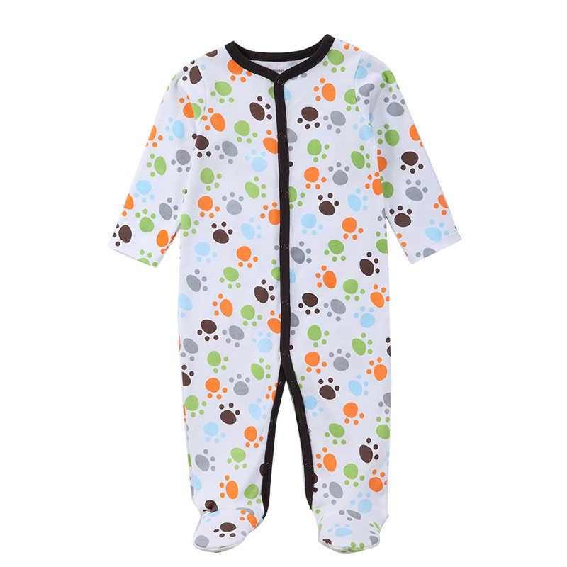 Luvable Friends зима/весна Детские пижамы Детские ползунки Спортивный костюм для малышей в целом с длинным рукавом облегающий костюм Одежда для малышей