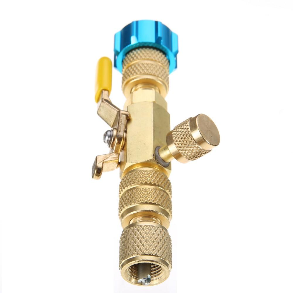 Mayitr 1 stück R22 R410A Klimaanlage Ventileinsatz Schnell Installer Tool 19BV-CV 1/4