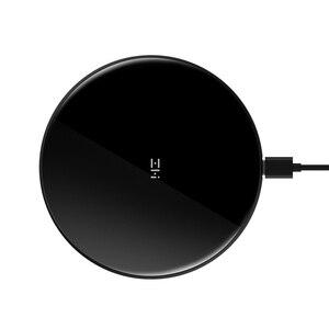 Image 5 - מקורי ZMI אלחוטי מטען iphone X/8/8 p Note8 S9/S9 נוקיה Moto2 נקסוס 2.5D זכוכית משטח 10W QI מטען אלחוטי